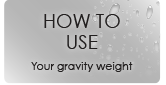 How to use gravity weights with Polytuf